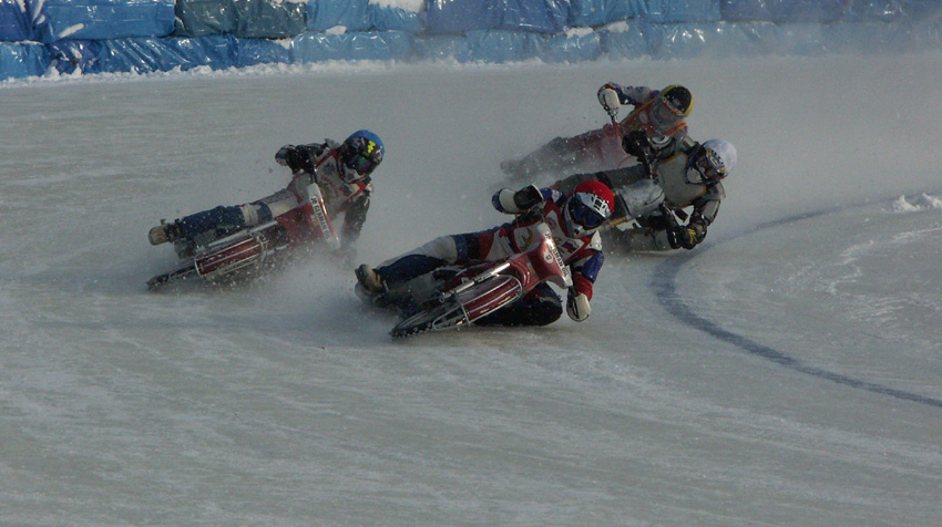 Bolt on your spikes and let 2019s go ice racing: motorcycles - cold blast